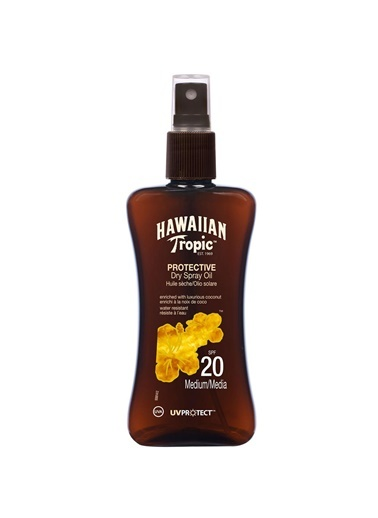 Protective Dry Spray Oil Spf20 200Ml-Hawaiian Tropic